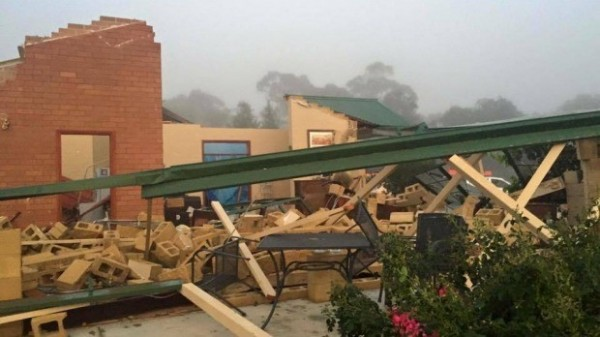 Close Calls In Southeast Australia as Violent Storm Cells Tear Through Region