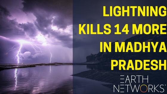 Madhya Pradesh Loses 14 More to Lightning