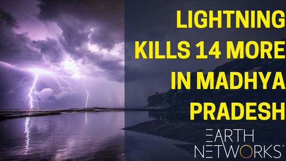 Madhya Pradesh Loses 14 More to Lightning