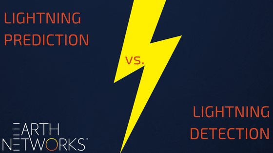 Lightning Prediction Vs. Lightning Detection: Which is a Hole in One?