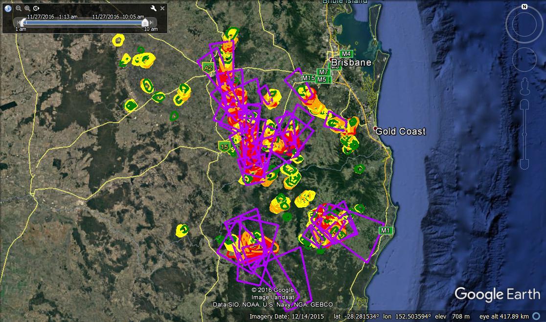 Dangerous Weather in Australia – Queensland