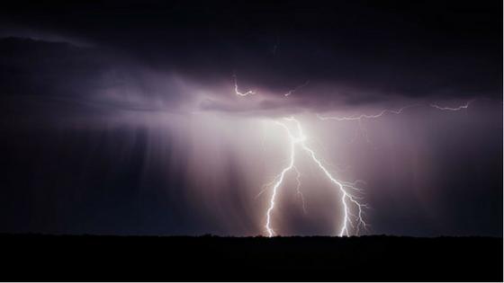 Lightning and Heat Waves Sizzle India