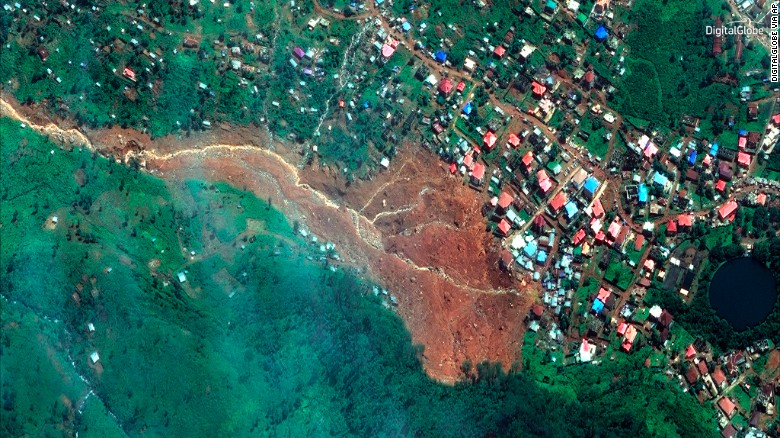 Sierra Leone Mudslide A Result of Intense Storms