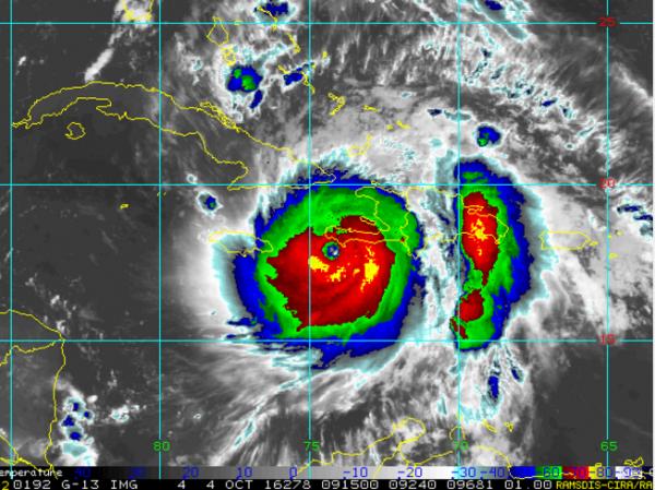 Hurricane Matthew Making its Way Towards the United States