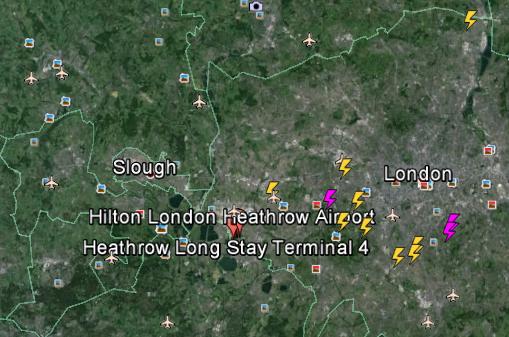 Severe Weather Causes Dangerous Flights