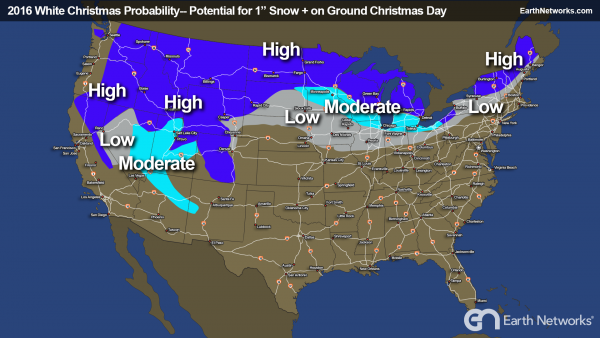 White Christmas Hopes: Will You Being Seeing Snow?